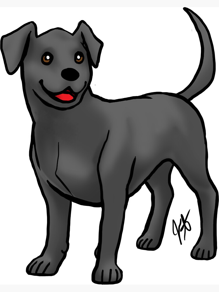 Labrador Retriever - Black by jameson9101322