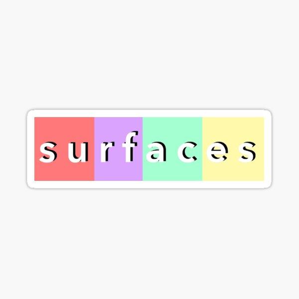Surfaces Logo Sticker