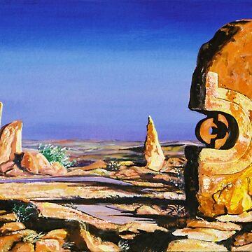 Broken Hill Sculptures by Ochresands