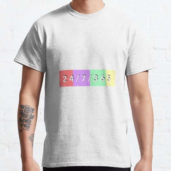 24/7/365 Surfaces Classic T-Shirt