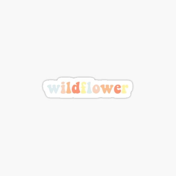 Wildflower By 5SOS Aesthetic Sticker