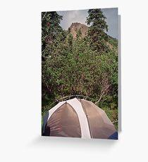igloo camp Greeting Card