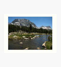 Fletcher and Vogelsang, Yosemite National Park, CA 2012 Art Print