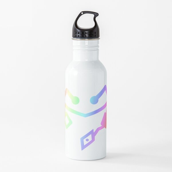 She Ra Heart First ones Rainbow Water Bottle