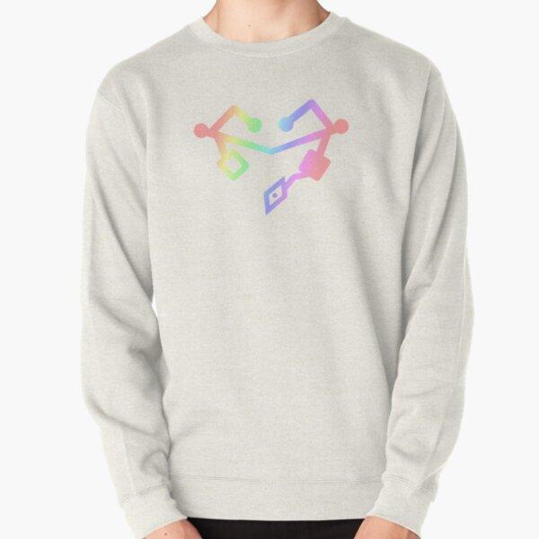 She Ra Heart First ones Rainbow Pullover Sweatshirt