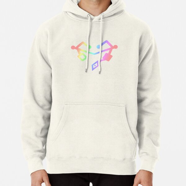 She Ra Heart First ones Rainbow Pullover Hoodie