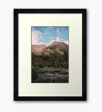Igloo Mountain Framed Print