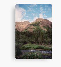 Igloo Mountain Canvas Print