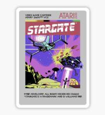 8bit Stargate Cartridge Sticker
