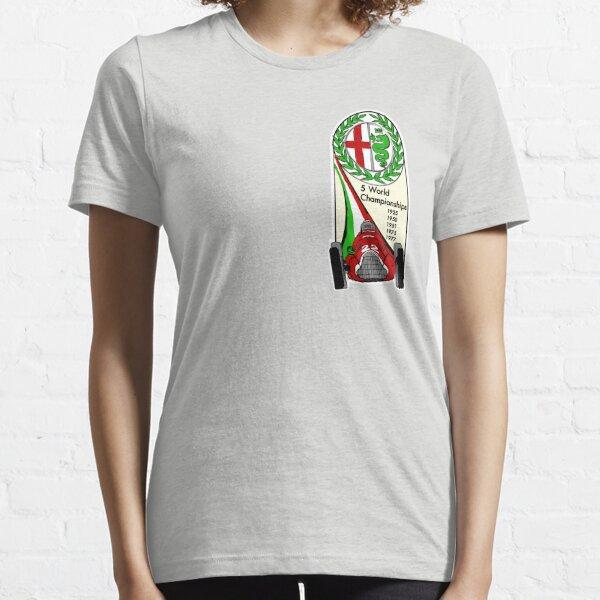 Alfa Romeo - 5 World Championships Essential T-Shirt