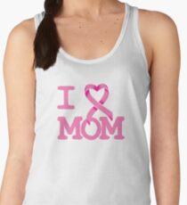 I Heart MOM - Breast Cancer Awareness Women's Tank Top
