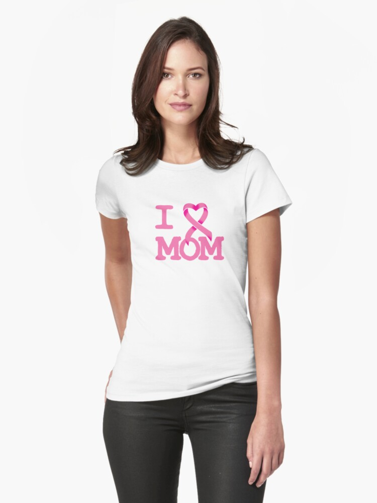 I Heart MOM - Breast Cancer Awareness by rachaelroyalty
