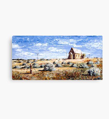 St Carthage: Silverton Outback Australia Canvas Print