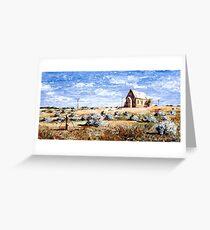 St Carthage: Silverton Outback Australia Greeting Card