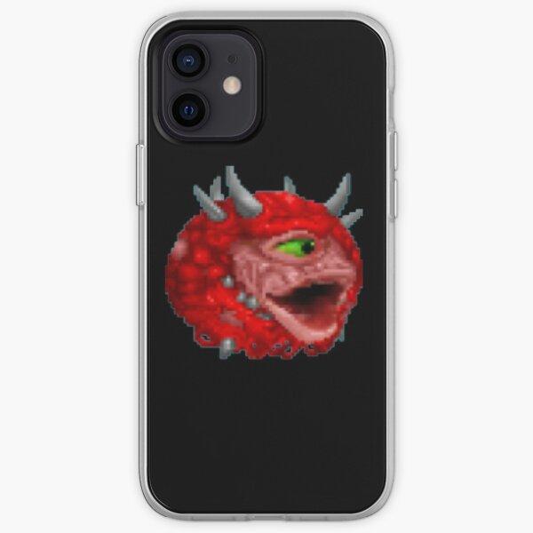 Poggers cacodemon Coque souple iPhone