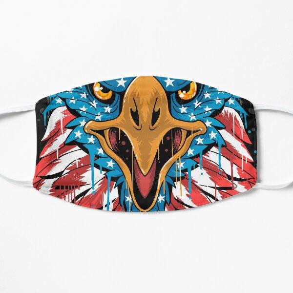 american flag  Flat Mask