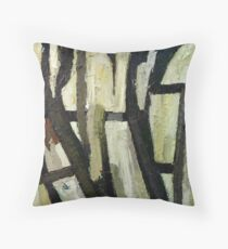 Undergrowth by Bernadette Smith Throw Pillow