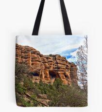Gila Cliff Dwellings Tote Bag