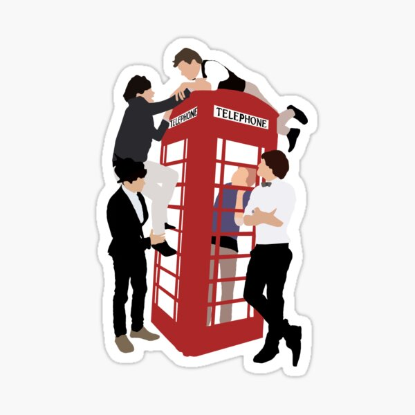 One Direction Take Me Home Sticker