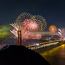 Golden Gate Bridge 75th Anniversary by Toby Harriman