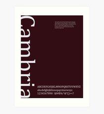 Cambria Art Print