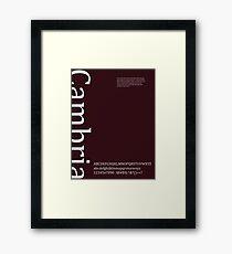Cambria Framed Print