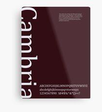 Cambria Metal Print