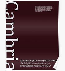 Cambria Poster