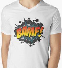 BAMF Mens V-Neck T-Shirt