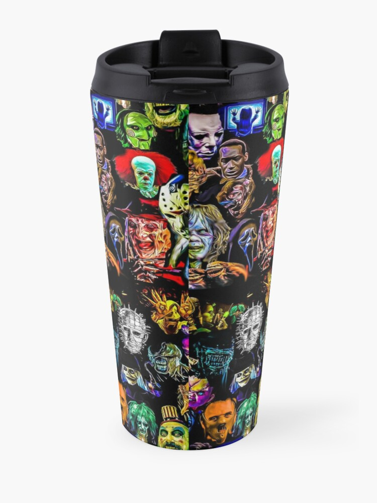 Alternate view of horror collection  Travel Mug