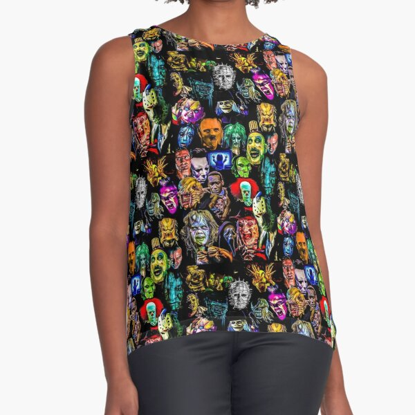 horror collection  Sleeveless Top