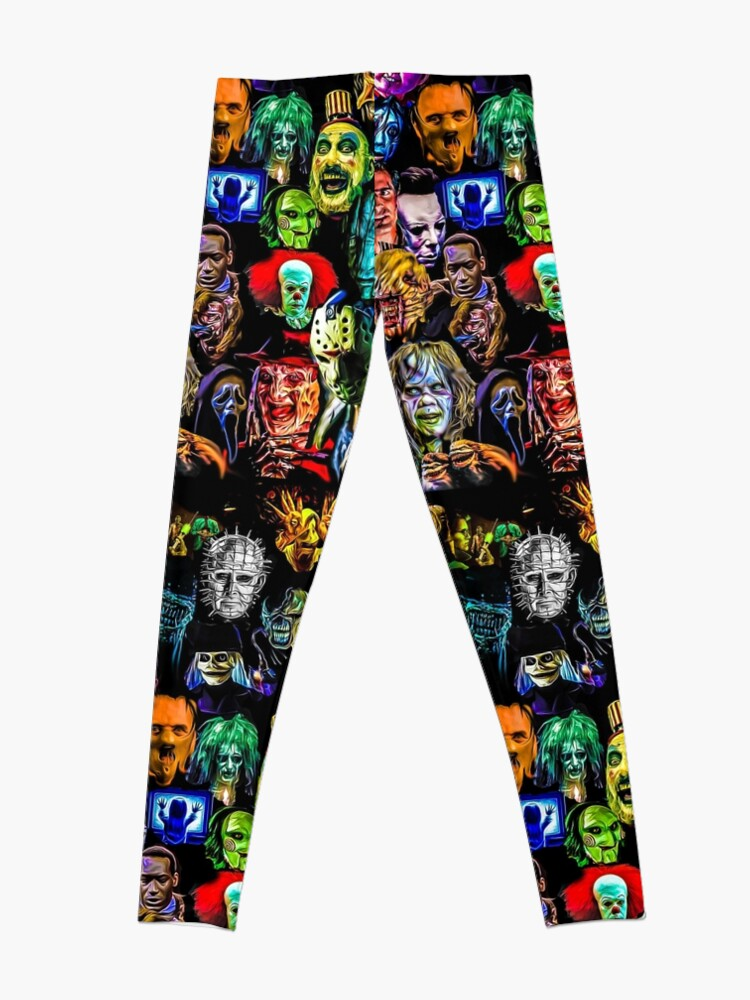 Alternate view of horror collection  Leggings