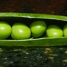 Peas on my Counter by lindybird