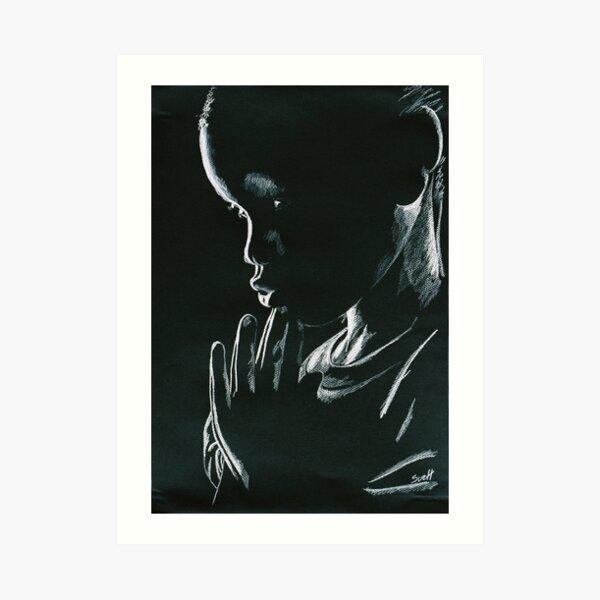 Praying Child Art Print