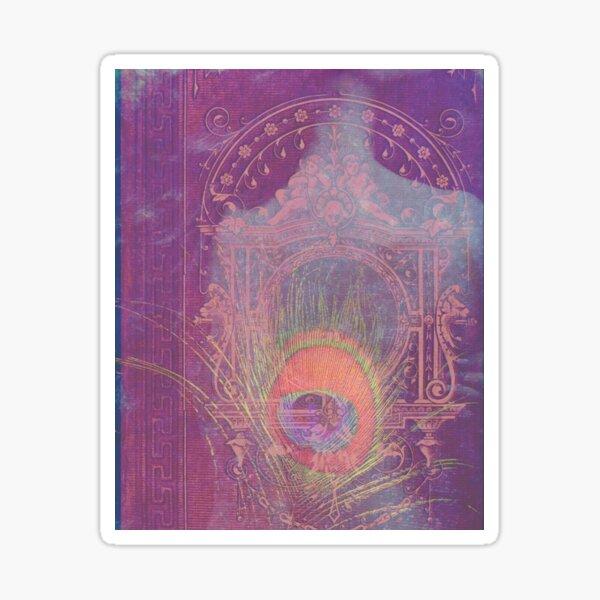 Gilded Dreams in Rose Sticker