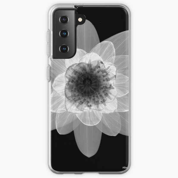 Floral Radiograph - Water Lily Samsung Galaxy Soft Case