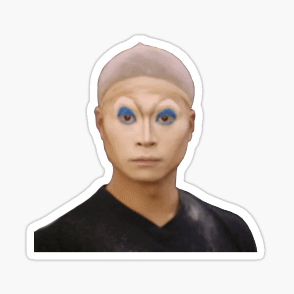 iconic glow up drag look Sticker