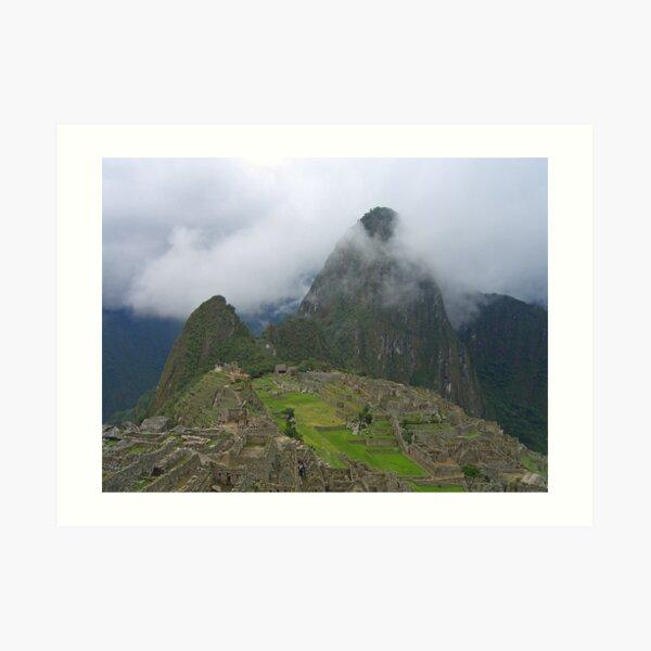Mystical Machu Picchu Art Print