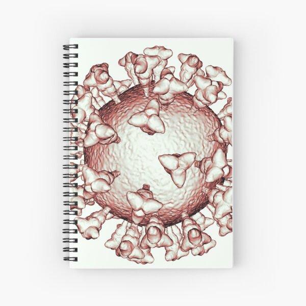 Coronavirus Sanguine COVID-19 Pandemic Virus Spiral Notebook