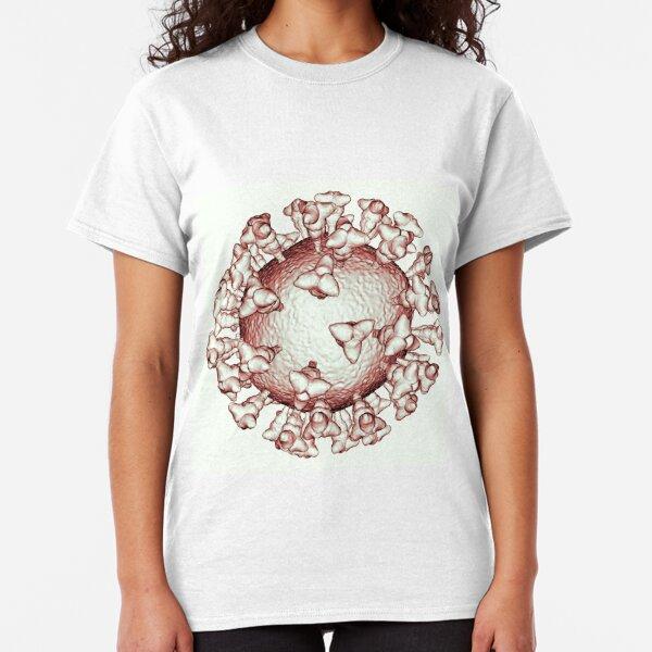 Coronavirus Sanguine COVID-19 Pandemic Virus Classic T-Shirt