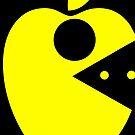 Pac Apple (mac man) by PerkyBeans