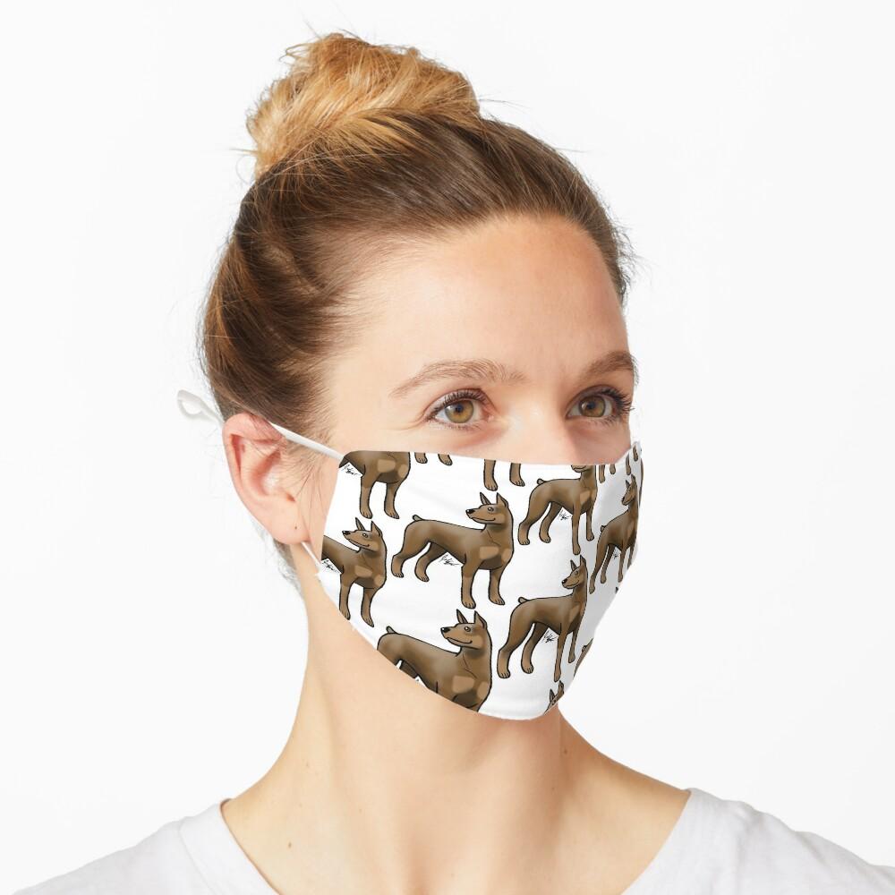 Doberman Pinscher - Brown and Tan Mask