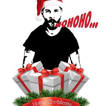 Shia Labeouf Merry Christmas by luckynewbie