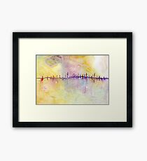 Abstract - city Framed Print