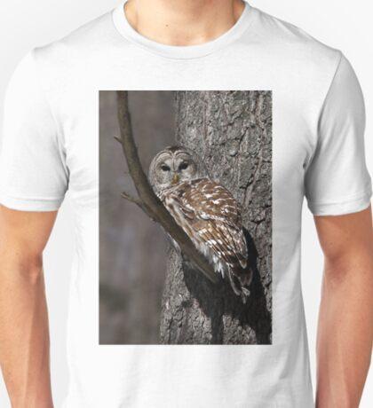 Barred Owl - Low, Quebec T-Shirt