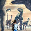 Monsters and Angel by kibishipaul