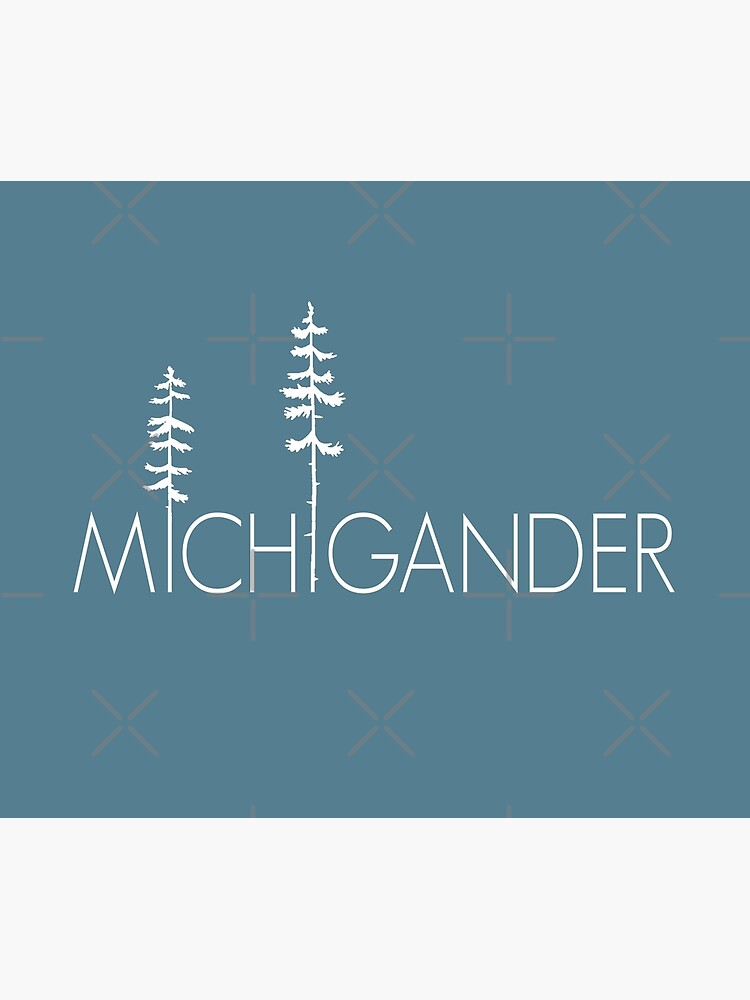 Proud Michigander, Michigan Up North Pine Trees by GreatLakesLocal
