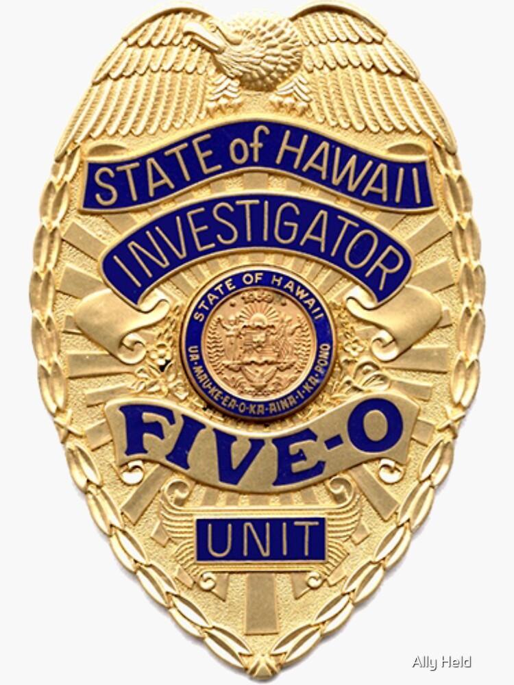Hawaii five 0 badge by 775426