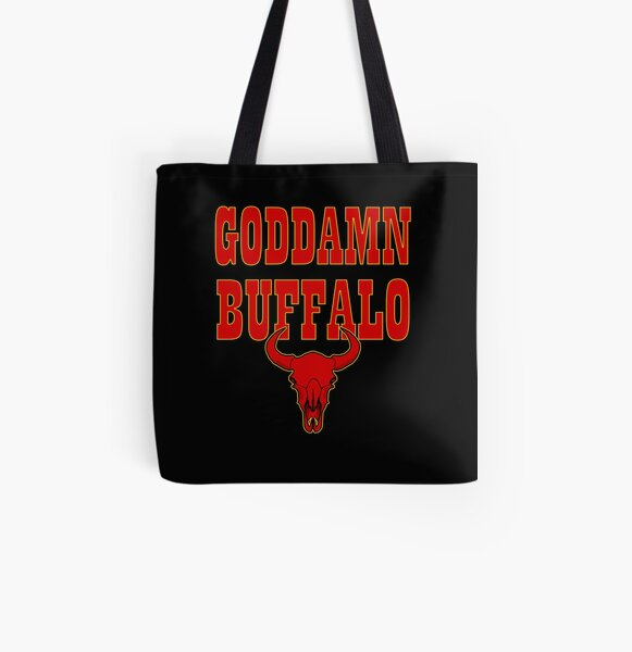 GODDAMN BUFFALO All Over Print Tote Bag