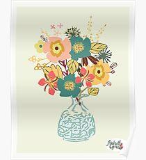 Autumn Blooms Poster